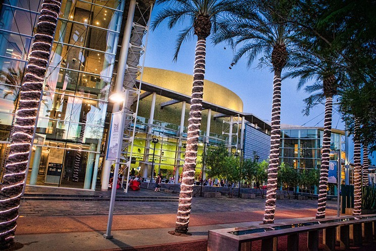 The Mesa Arts Center Foundation is helping artists with performance space. - MESA ARTS CENTER