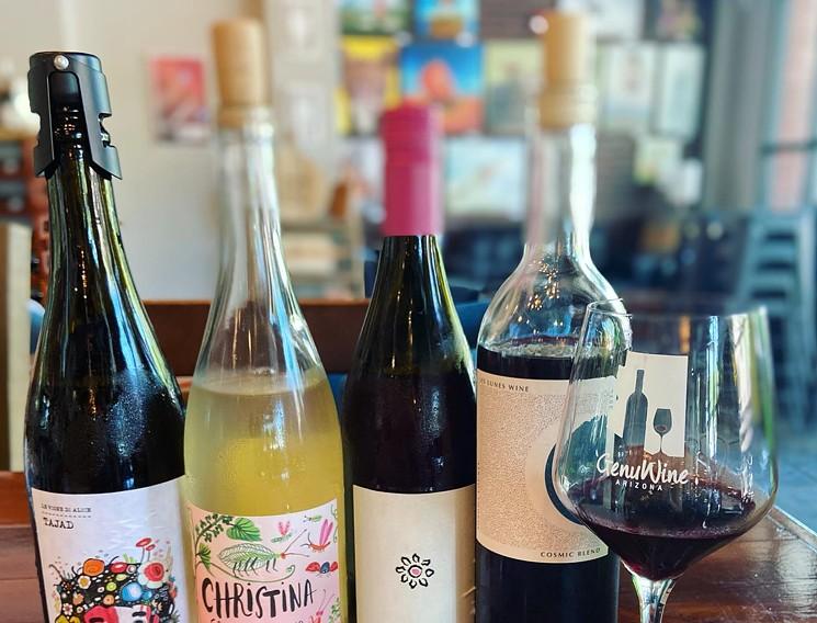 Head to GenuWine for their next Natural Wine Tasting event. - GENUWINE ARIZONA
