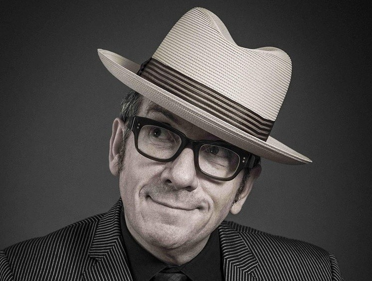 Elvis Costello is heading back to town. - ANDY GOTTS