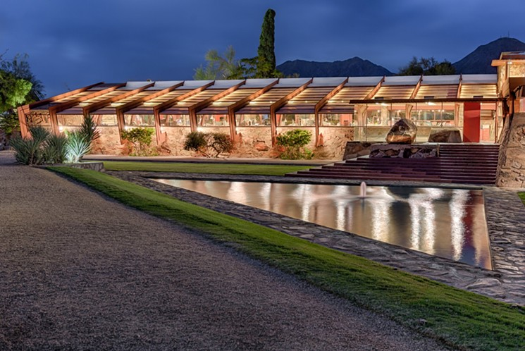 Explore Taliesin West with a self-guided audio tour. - ANDREW PIELAGE