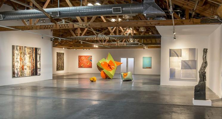 Recalling an earlier exhibit at Bentley Gallery. - BENTLEY GALLERY