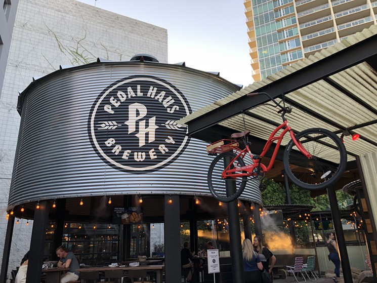Head back to Pedal Haus after your bike ride for bottomless breakfast and happy hour-priced drinks. - LAUREN CUSIMANO