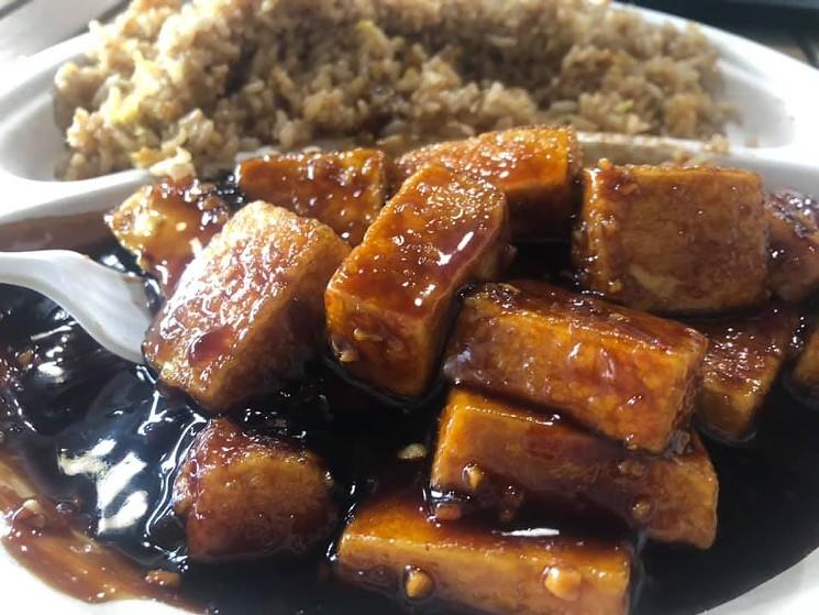 Tofu and teriyaki chicken is on the menu at So Good Kitchen. - SO GOOD KITCHEN VIA FACEBOOK