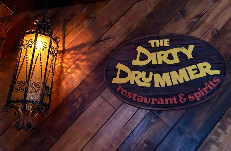 The dirty drummer in Phoenix.  - LAUREN CUSIMANO