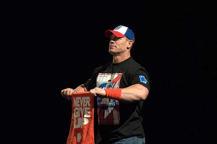 John Cena will be in the house at Footprint Center on Friday, August 20. - BENJAMIN LEATHERMAN