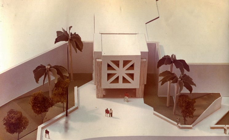 A model of the proposed Paradise Valley Mall - RAFIQUE ISLAM