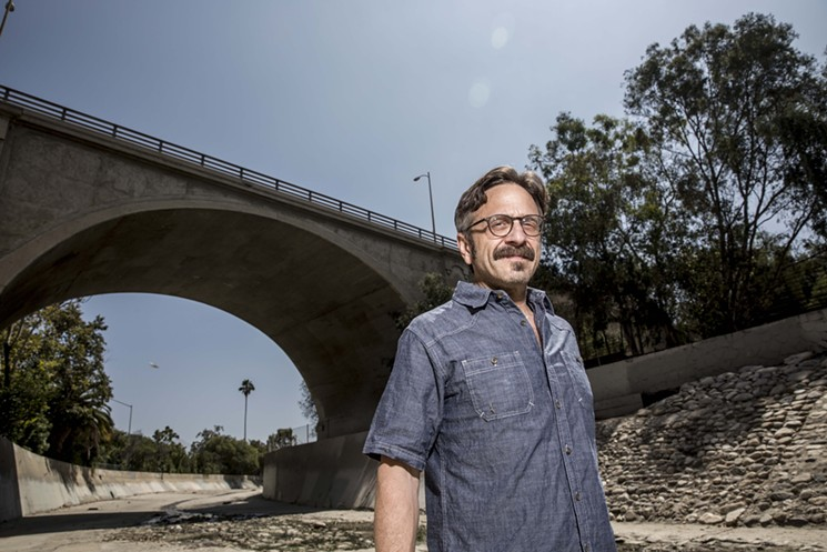 Marc Maron is coming to Phoenix in mid-August. - TRAVIS SHINN