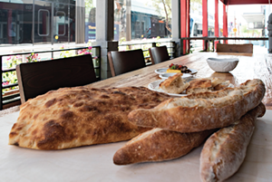 Pa'La's wonderful breads. - JACKIE MERCANDETTI PHOTO