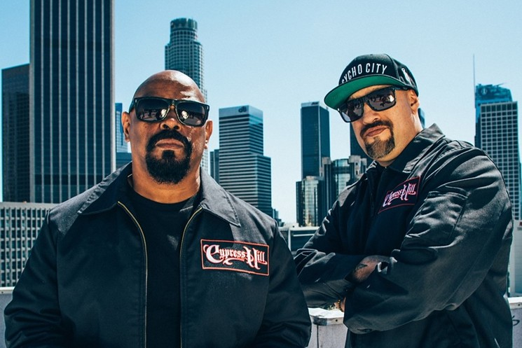 Sen Dog and B-Real of Cypress Hill. - EITAN MISKEVICH