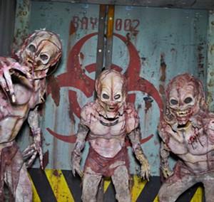 Creepy creatures from one of Fear Farm's haunts. - ALEXANDRA GASPAR