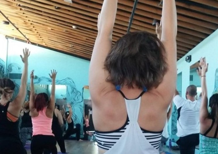 Making time for yoga at Yoga Sutra in Roosevelt Row. - YOGA SUTRA