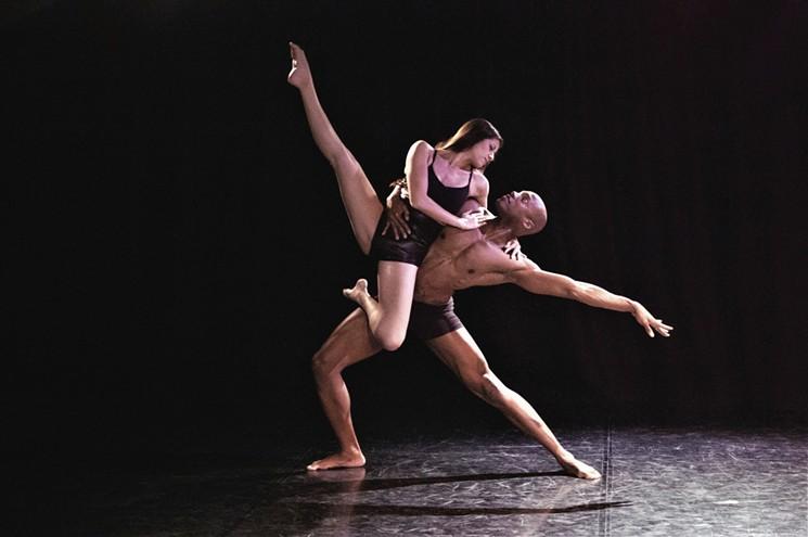 Martha Hernandez and Alex Patrick perform in Fate with CaZo Dance Company. - STEPHANIE TIPPI HART/DRAGONFLY STUDIO PHOENIX