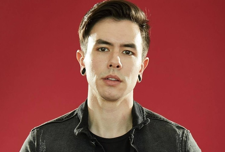 Nathan Sharp, better known as NateWantsToBattle. - GIVE HEART RECORDS