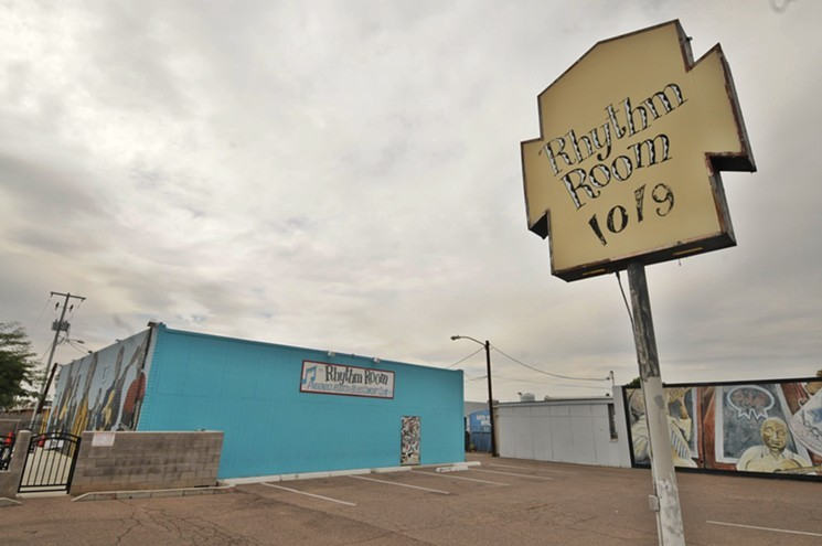 Phoenix blues institution The Rhythm Room. - BENJAMIN LEATHERMAN