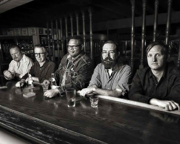 Dallas band The 40 Acre Mule. - CASEY KINNEY