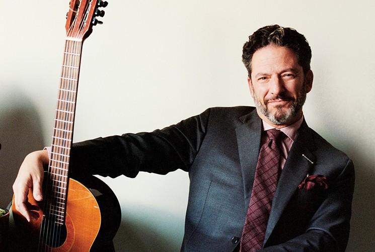 Jazz guitarist and vocalist John Pizzarelli. - MIM