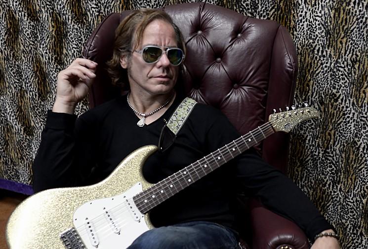 Guitarist Chris Duarte comes to The Rhythm Room this week. - CHRIS DURARTE