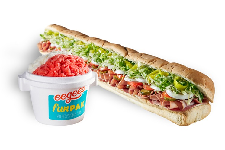 Enjoy discounts on various catering packages at eegee's. - EEGEE'S