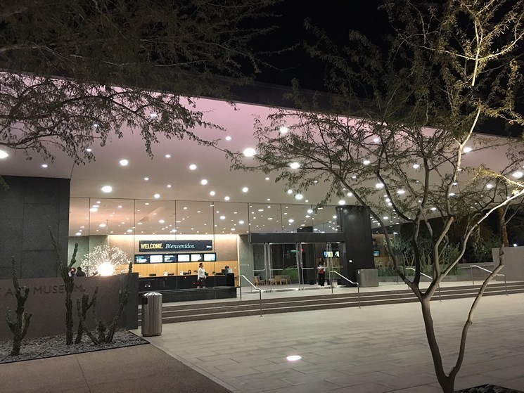 Phoenix Art Museum is getting ready to open a new exhibition. - LYNN TRIMBLE