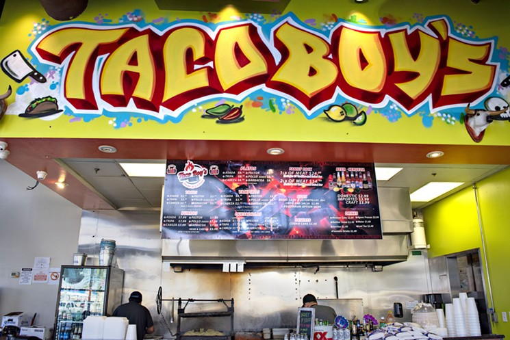 Taco Boys opened its second location in Tempe. - JM PHOTO