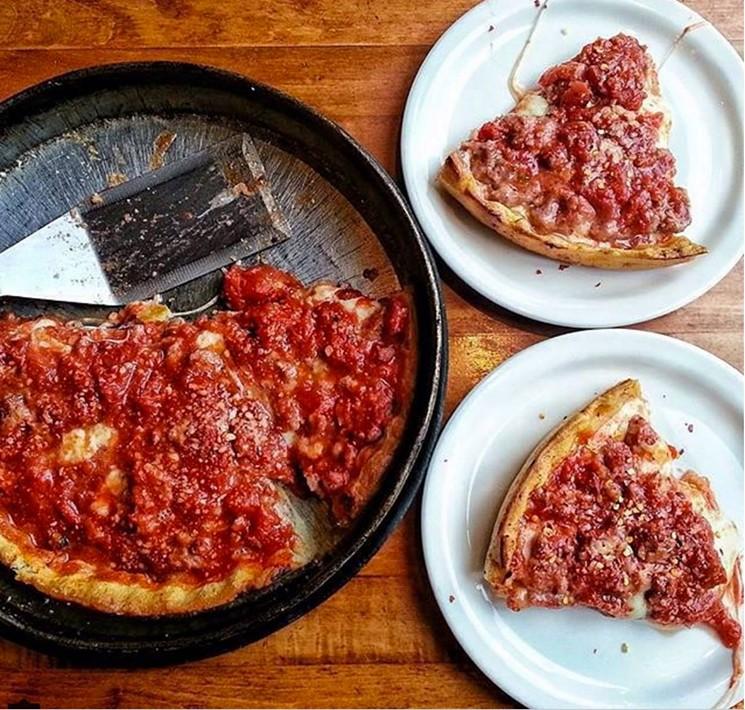 Deep dish pizza continues to flood Phoenix. - LOU MALNATI'S