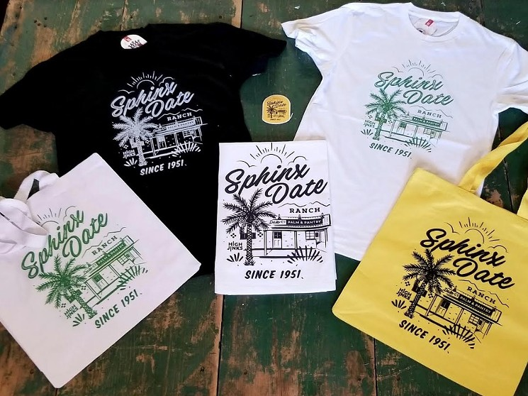 New merchandise designed by High Jinx. - SPHINX DATE CO. PALM & PANTRY