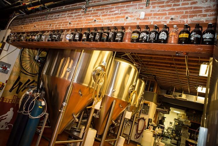 SanTan Brewing Company always has quite the selection. - MELISSA FOSSUM