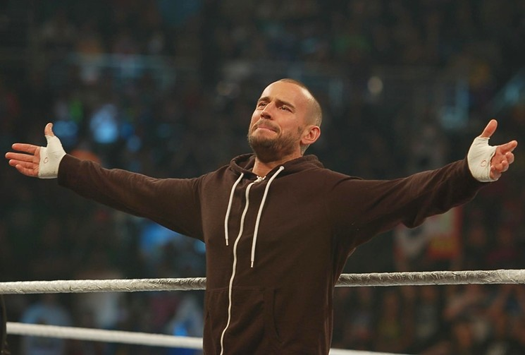 See CM Punk during AEW's All Out Saturday at local AMC and Harkins theaters.  - BENJAMIN LEATHERMAN