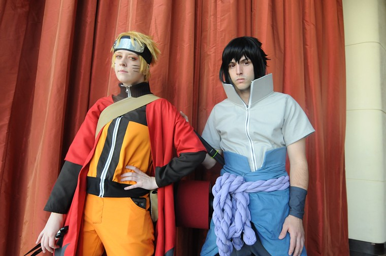 Characters from the Naruto series. - BENJAMIN LEATHERMAN
