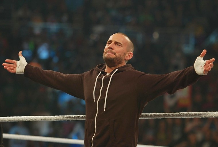 See CM Punk during AEW's All Out on Saturday at local AMC and Harkins movie theaters. - BENJAMIN LEATHERMAN