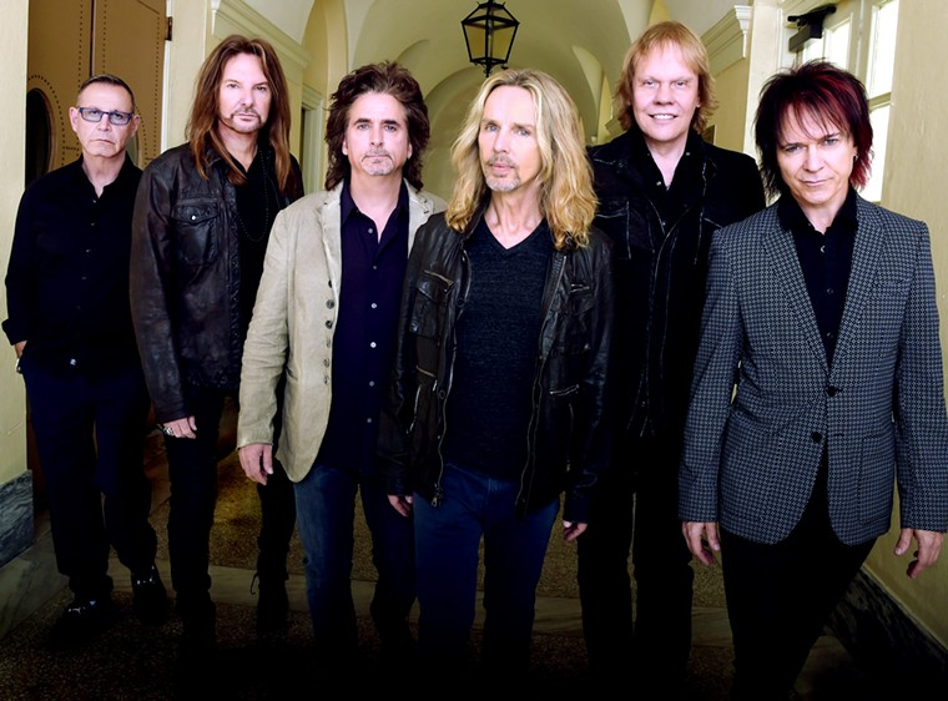 Rock legends Styx. - RICK DIAMOND
