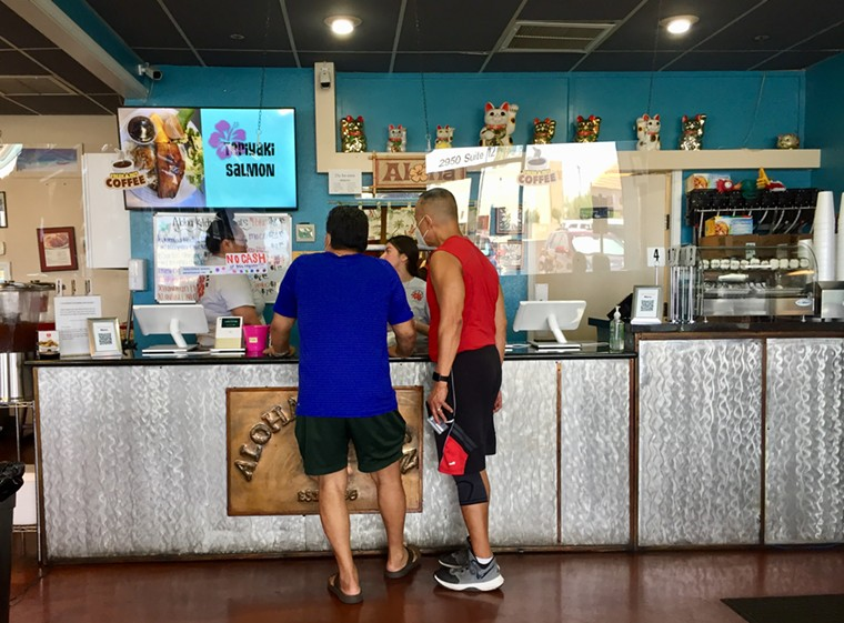 Soak in the vacation vibes at Aloha Kitchen. - ALLISON YOUNG