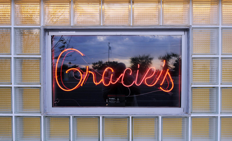 Gracie's has one of the best jukeboxes in town. - NEW TIMES ARCHIVE