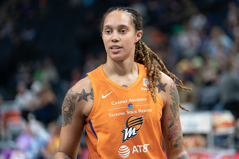 The Phoenix Mercury's Brittney Griner. - LORIE SHAULL/CC BY-SA 2.0/FLICKR CREATIVE COMMONS