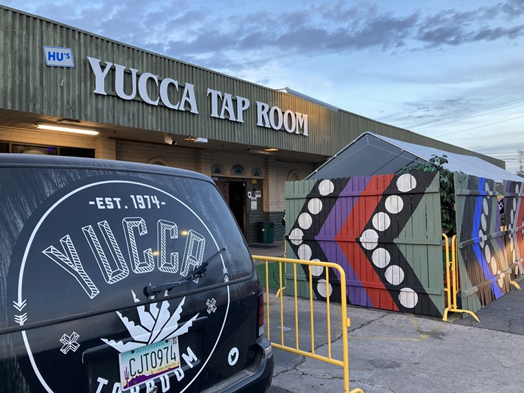 Get ready for another flea market at Yucca Tap Room. - LAUREN CUSIMANO