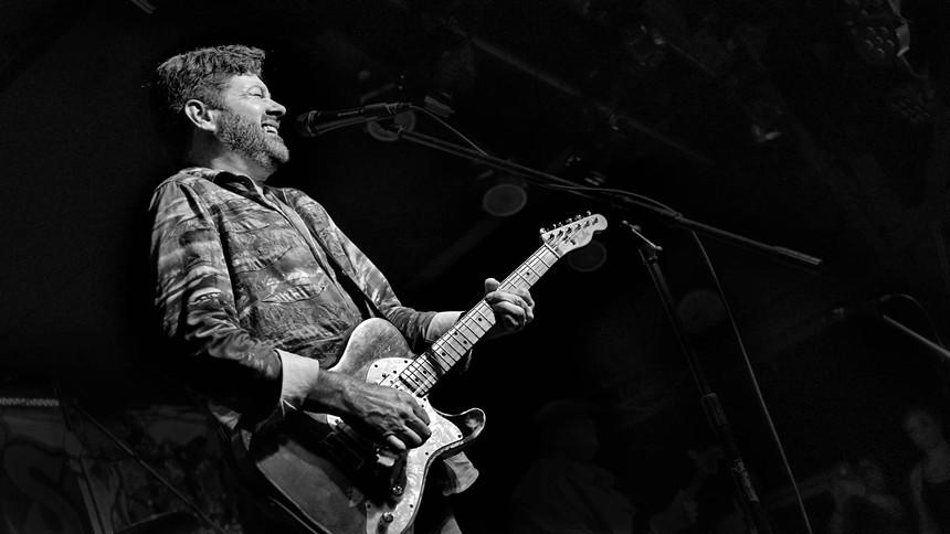 Blues guitarist Tab Benoit. - RUEBEN WILLIAMS