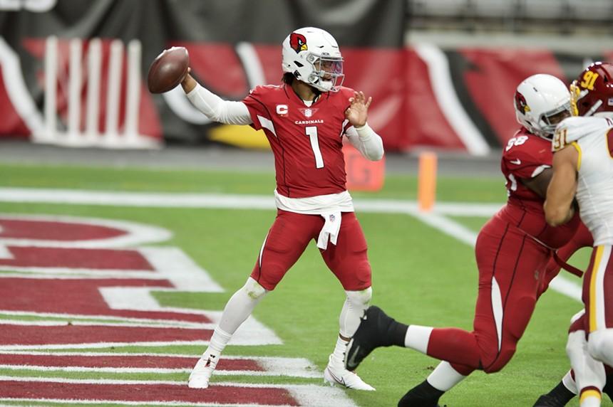 Arizona Cardinals quarterback Kyler Murray. - ALL-PRO REELS/CC BY-SA 2.0/FLICKR