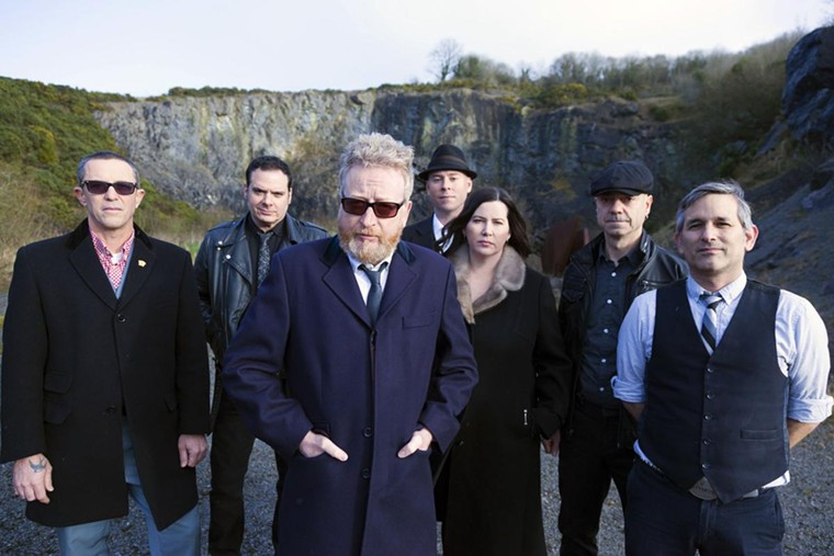 Flogging Molly is co-headlining a fall tour with Violent Femmes. - RICHIE SMYTH