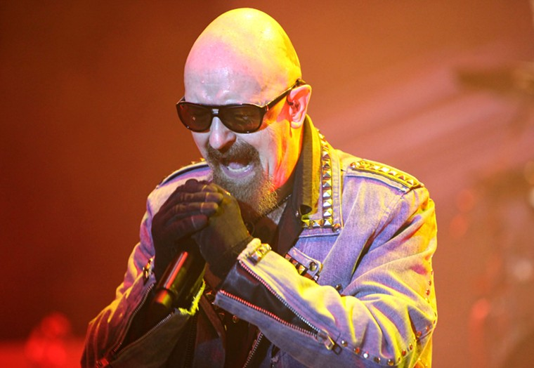 Judas Priest frontman and Valley resident Rob Halford. - LUIS BLANCO/CC BY 2.0/FLICKR
