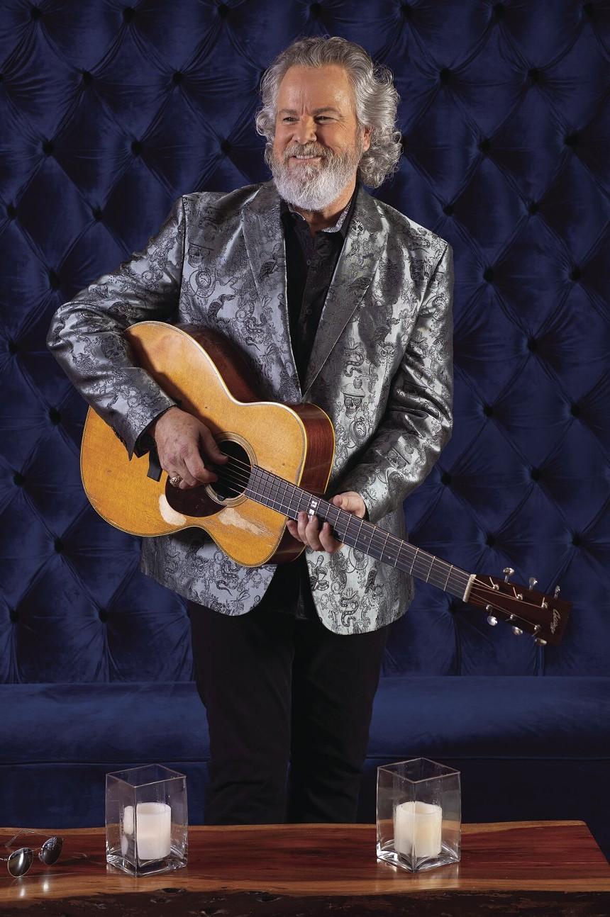 Country, bluegrass, Americana, and folk artist Robert Earl Keen. - NICK DOLL