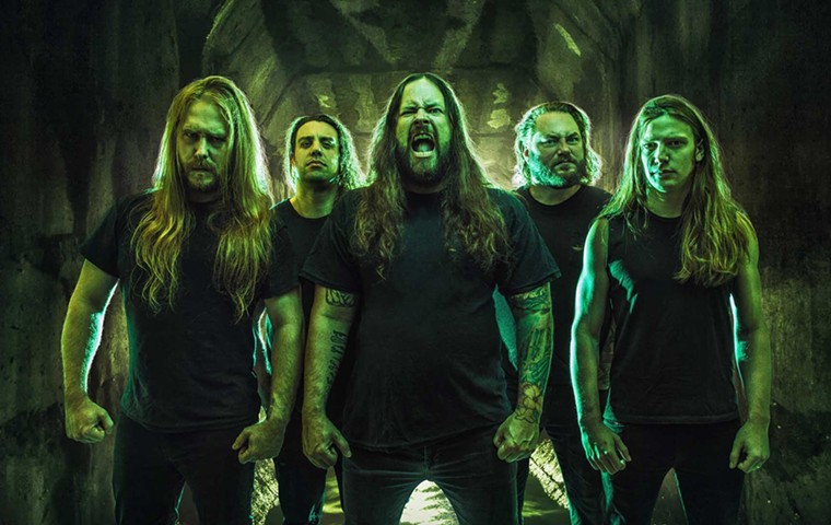 Melodic death metal band The Black Dahlia Murder will terrorize The Nile Theater in Mesa this week. - METAL BLADE RECORDS