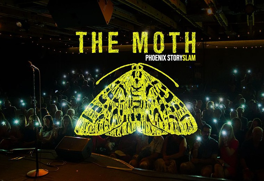 The Moth is bringing storytelling to Crescent Ballroom. - CRESCENT BALLROOM