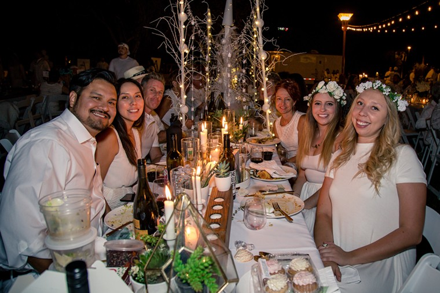 Enjoy a gourmet picnic or bring your own for dinner under the stars. - DEREK LARREMORE
