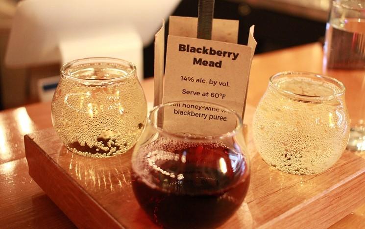Meads go way beyond traditional honey. - ALLISON TREBACZ