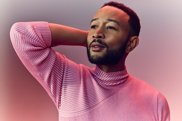 John Legend has a new album out and tour date in the Valley this weekend. - JOE PUGLIESE