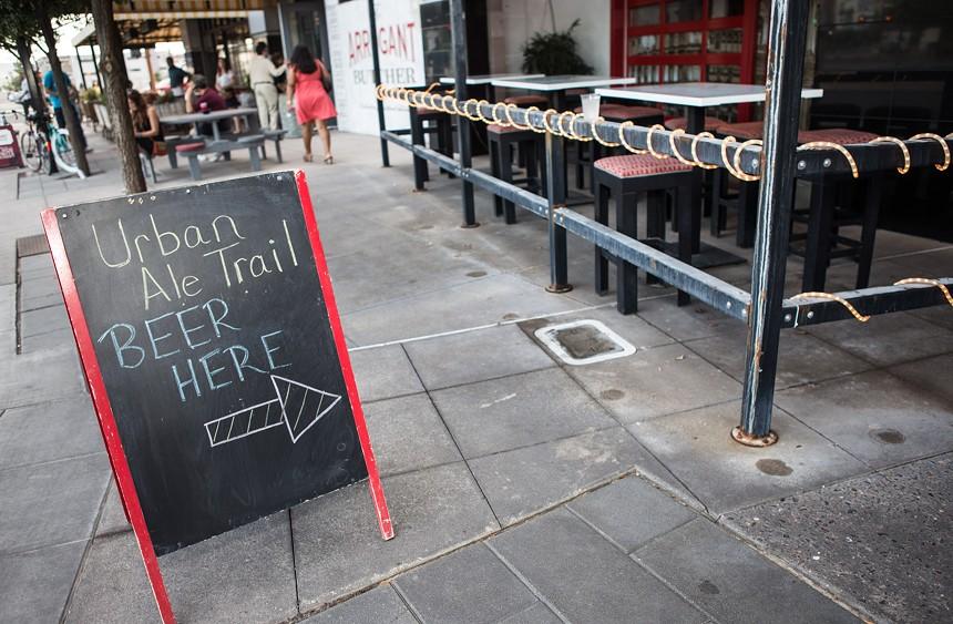 Downtown Phoenix Inc.'s annual Urban Ale Trail returns for its eighth year. - MELISSA FOSSUM