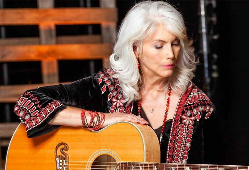 Legendary folk and country singer/songwriter Emmylou Harris. - MESA ARTS CENTER