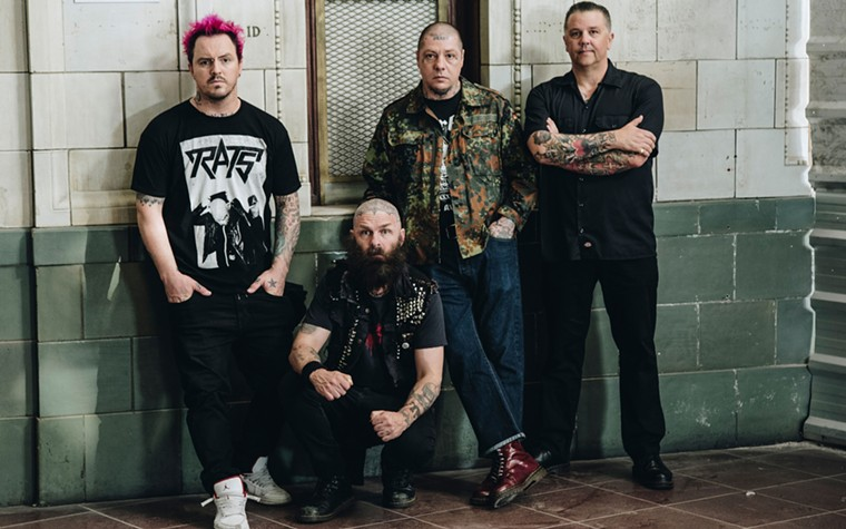 The punks of Rancid. - EPITAPH RECORD