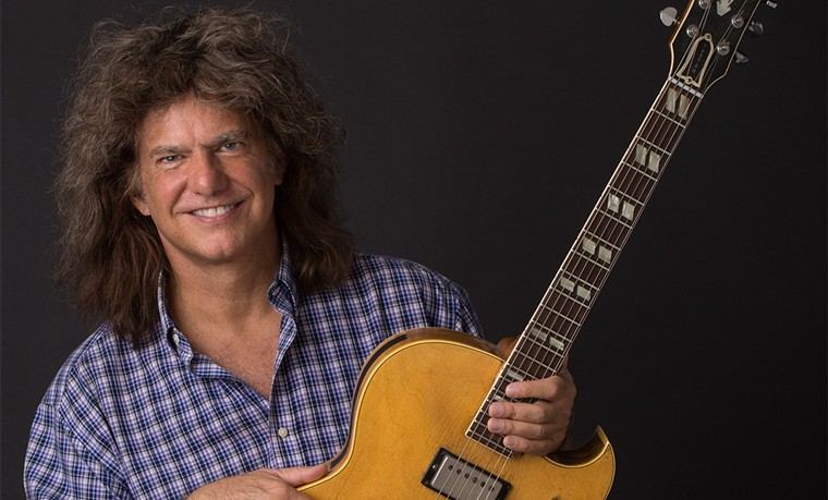 Jazz guitarist and composer Pat Metheny. - SHORE FIRE MEDIA