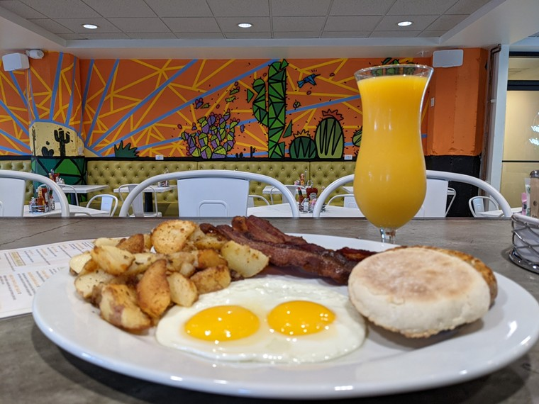 Morning Squeeze has opened its third branch in downtown Phoenix.  - MORNING SQUEEZE